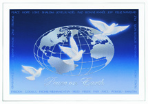 Doves of Peace Holiday Cards