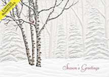 Serene View Holiday Cards